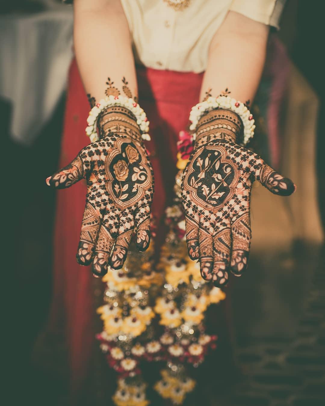 PunjabKesari, Best Dulhan Mehndi Design Image,बेस्ट दुल्हनमेहंदी डिजाइन इमेज