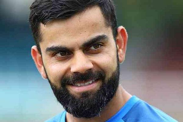 PunjabKesarisports virat Kohli smile image wallpaper photo