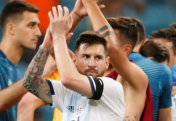 Messi refuses to attend medal ceremony after angry reaction to red card