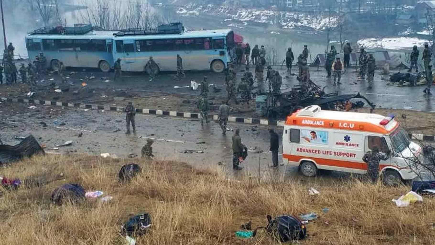 PunjabKesari, pulwama terror attack Help Image, Reliance Foundation Image