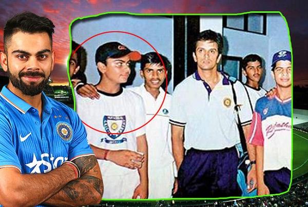 PunjabKesarisports virat Kohli childhood image