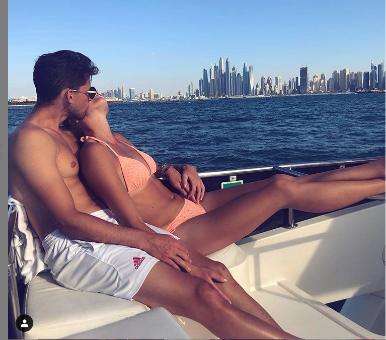 Dominic Thiem and Christina Mladenovic dating from 2017