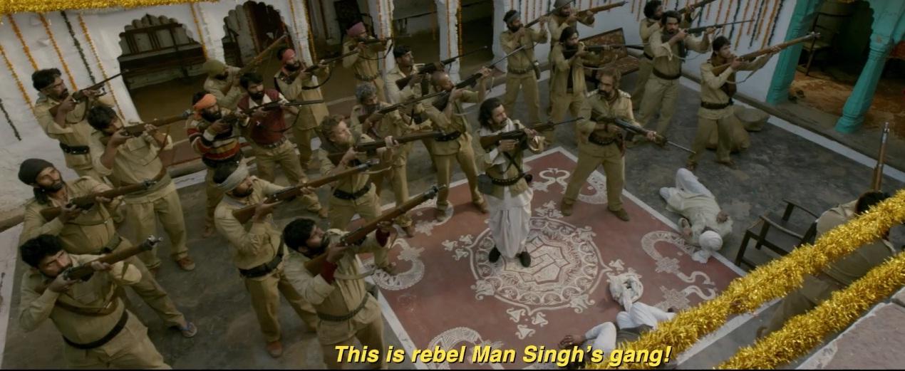 PunjabKesari, सुशांत सिंह राजपूत इमेज, भूमि पेडनेकर इमेज, मनोज बाजपायी इमेज, डाकू इमेज, रणवीर शोरी इमेज, सोन चिरैया टीजर