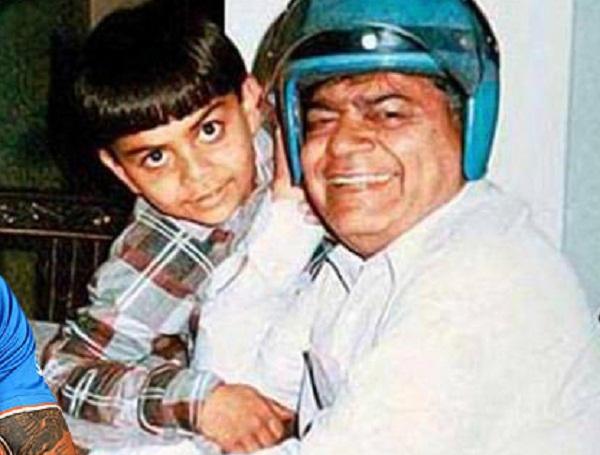 PunjabKesarisports virat Kohli image photo with father