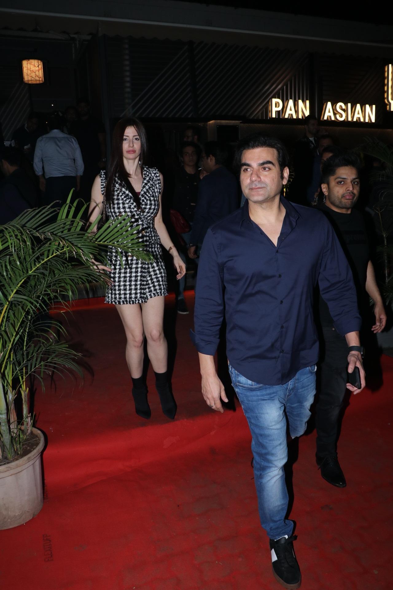 Bollywood Tadka, अरबाज खान इमेज, जॉर्जिया एंड्रियानी इमेज, डिनर डेट इमेज,