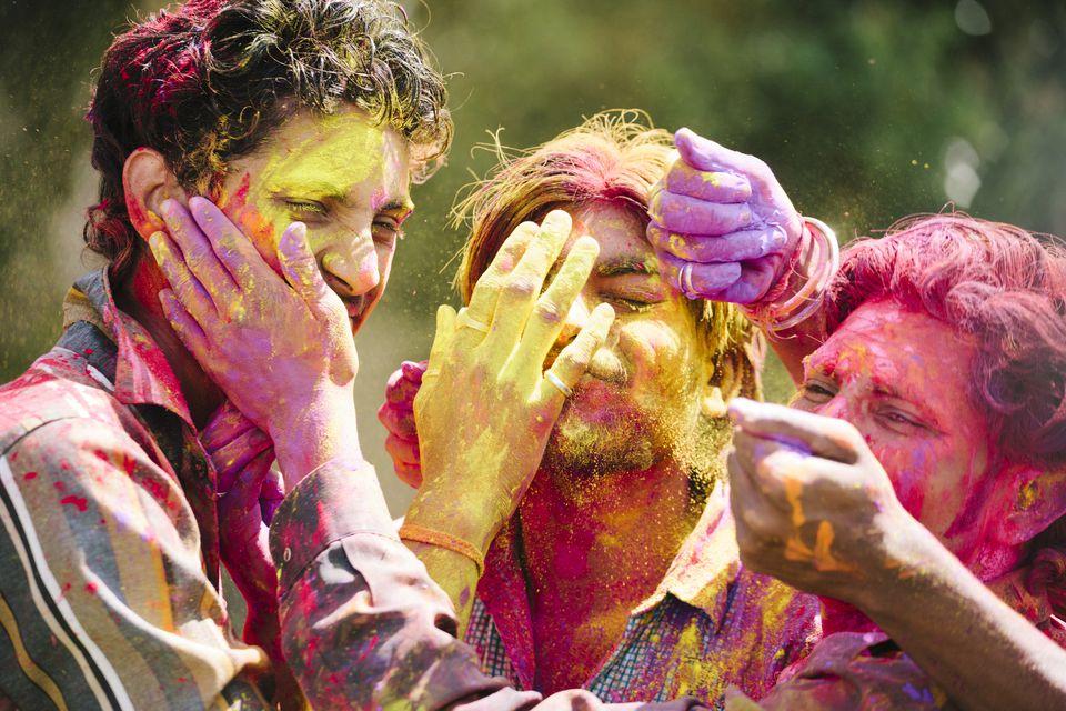 PunjabKesari, Holi barsana 2020, Holi 2020, holi 2020 in bihar, holi 2020 panchang, happy holi 2020, dhulandi 2020, holika dahan 2020, holi dhulandi 2020, dhulandi 2020 date, holi in vrindavan, dharm, hindu festival, holi festival, festival of colors