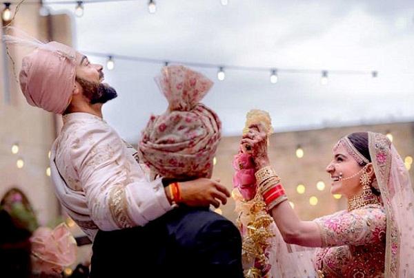 PunjabKesarisports virat Kohli marriage image photo