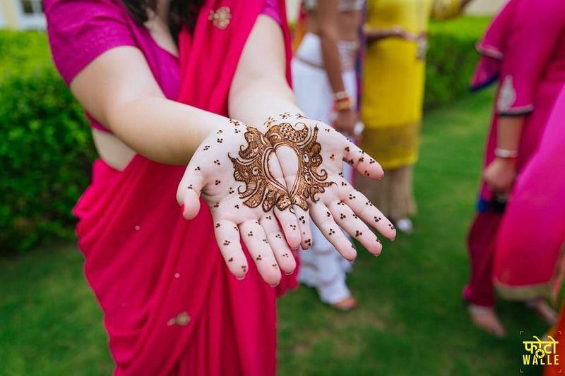 PunjabKesari, मेहंदी डिज़ाइन इमेज, फ्लोरल मेहँदी डिज़ाइन इमेज, Mehndi Design Image