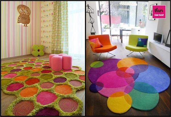 Winter Decor: स्टाइल के साथ घर को बनाएं कम्फर्टेबल, फर्श पर बिछाएं कलरफुल Rugs