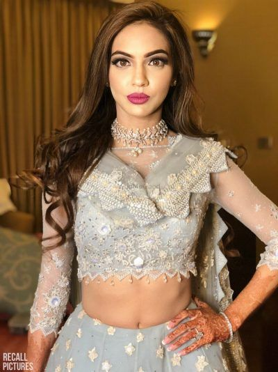 PunjabKesari, Nari, Pyramid Shaped Dupatta Image, Bridal Fashion