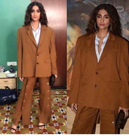 PunjabKesari, Nari, Weird Fashion image, Oversized pantsuit Image
