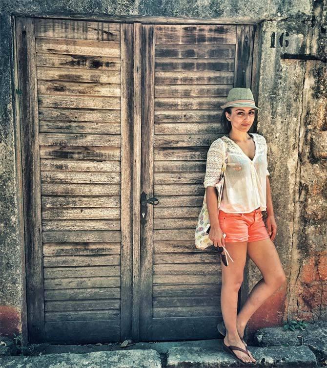 PunjabKesari, Soha Ali Khan Image, Travelling Tips Image