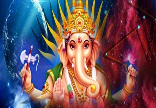 PunjabKesari, बुध देव, बुध ग्रह, Mercury Planet, Budh Dev, Budh Dev Image, Lord Ganesh, Ganesh Image, Ganesh and Budh Dev image