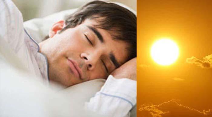 PunjabKesari, kundli tv, sleeping in morning time