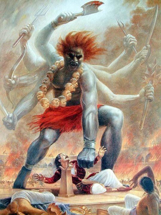PunjabKesari, kundli tv, veerbhadra image