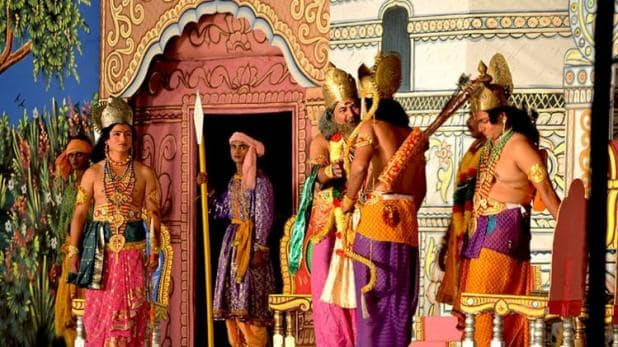 PunjabKesari, Ramlila, रामलीला मंचन, Navratri, Shardiya Navratri 2019, Ramlila Machan, ramlila celebrated ib different countries in world, Fast And festival, Vrat And tyohar