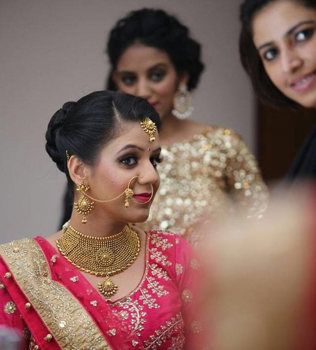 PunjabKesari,  ब्राइडल मेकअप  इमेज ,  bridal makeup image