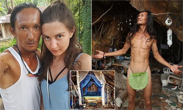 thai cave man became sensation on social media