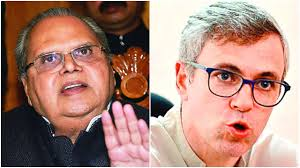 omar abdullah reaches governor house to meet governor