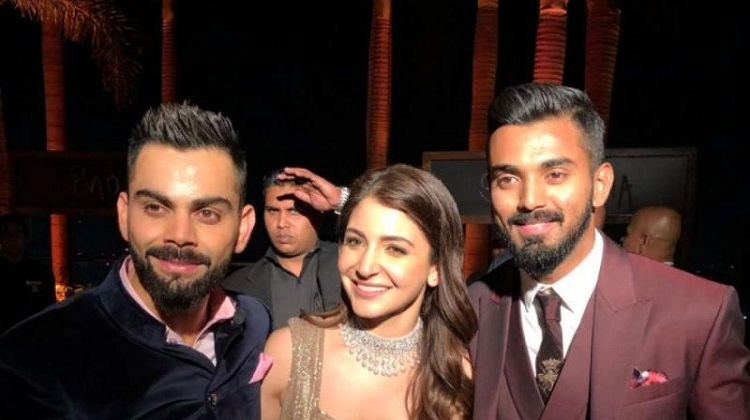 Bollywood Tadka, Kl rahul with Anushka Sharma