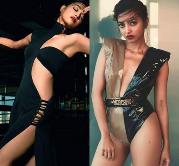 मैक्सिम इंडिया के लिए राधिका ने करवाया फोटोशूट, ब्लैक ड्रेस में दिखा सेक्सी अवतार