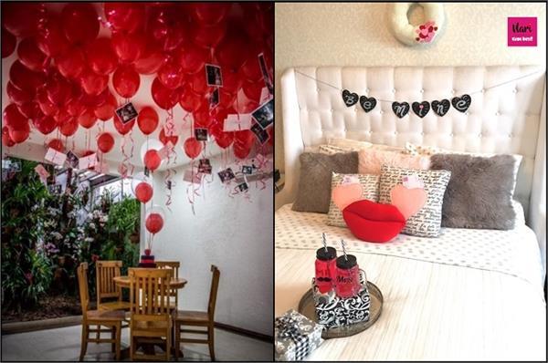 घर पर मनाने जा रहे हैं Valentine Day तो यहां से लीजिए डैकोरेशन के आइडियाज