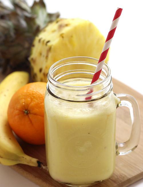 PunjabKesari, Orange Pineapple Smoothie Recipe Image
