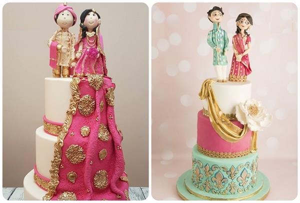शादी हो या रिसेप्शन पार्टी, चूज करें साल 2021 के 8 ट्रैंडी ब्राइडल केक डिजाइन्स