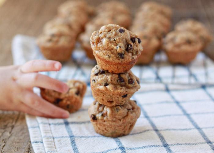 PunjabKesari, Banana and Chocolate Chip Muffins Recipe Image