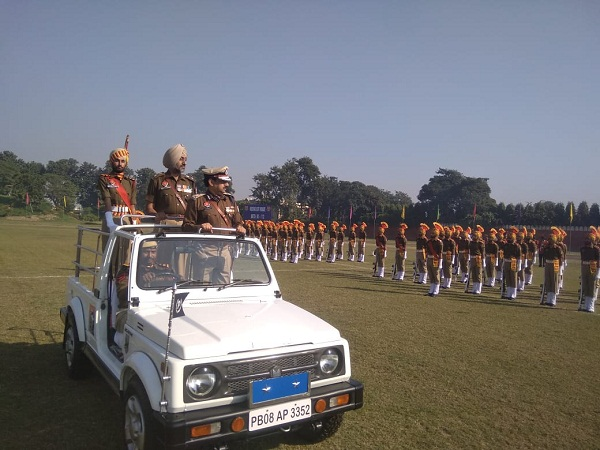 PunjabKesari, Passing out parade at Punjab Armed Police