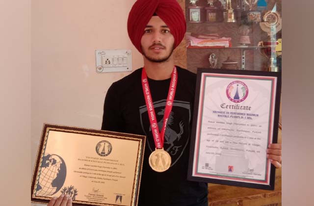 PunjabKesari, Kunwar created national record on basis of talent, will soon get award
