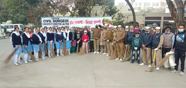 PunjabKesari, Sanitation campaign conducted by Sant Nirankari Mandal Branch Jalandhar