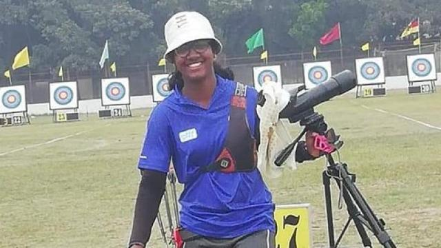PunjabKesari,World Archery Youth Championships, Komolika Bari, Nari