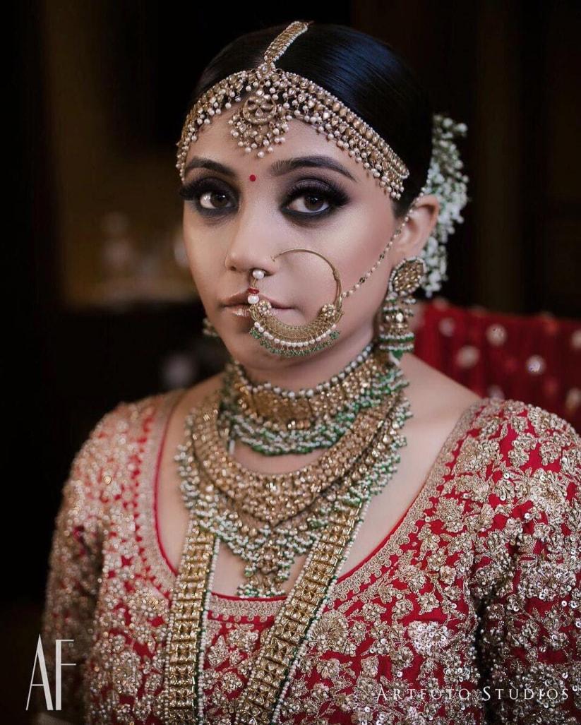 PunjabKesari, Best Wedding Nose Rings images, बेस्ट वेडिंग नोज रिंग इमेज