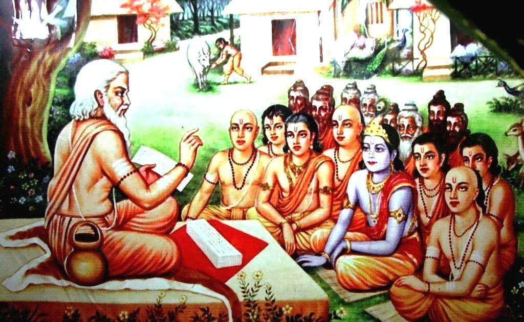 PunjabKesari, गुरूकुल, श्री कृष्ण, Sri krishna, lord krishna