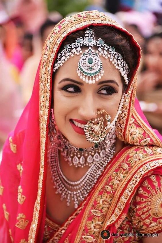 PunjabKesari, Best Bridal Nose Ring Design Image, बेस्ट ब्राइडल नोज रिंग डिज़ाइन इमेज