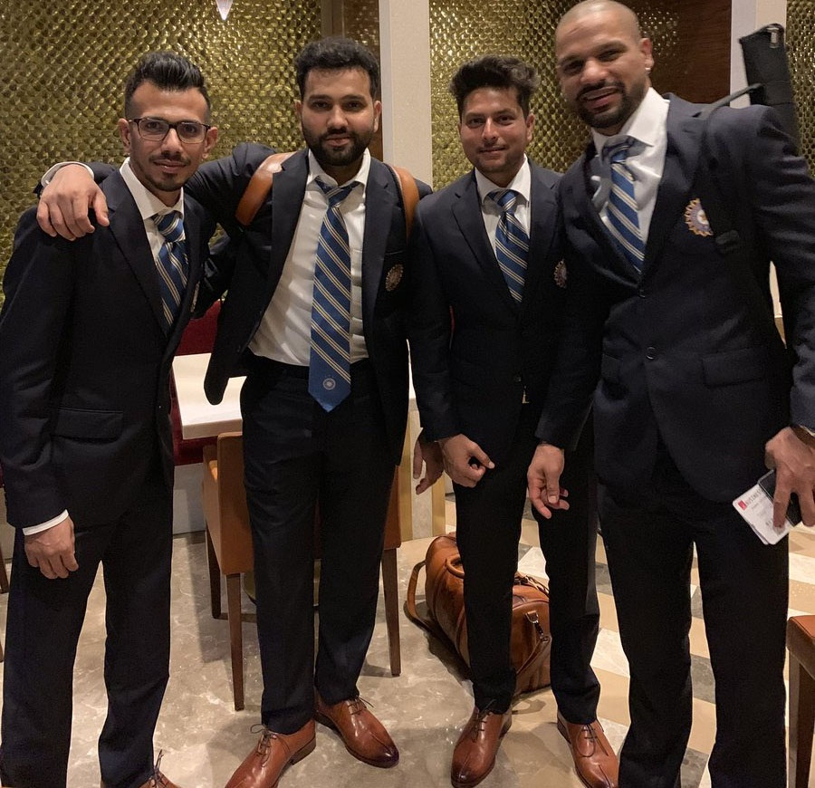 CRICKET WORLD CUP 2019 : TEAM INDIA LEAVE FOR ENGLAND