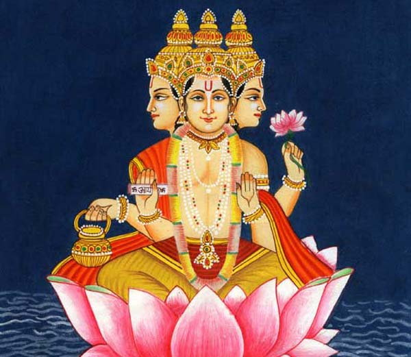 PunjabKesari, kundli tv, Brahma dev image