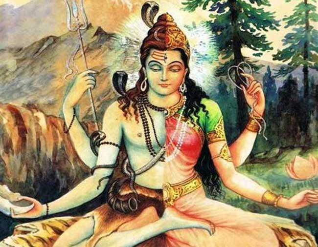 PunjabKesari, kundli tv, ardhanarishwar image