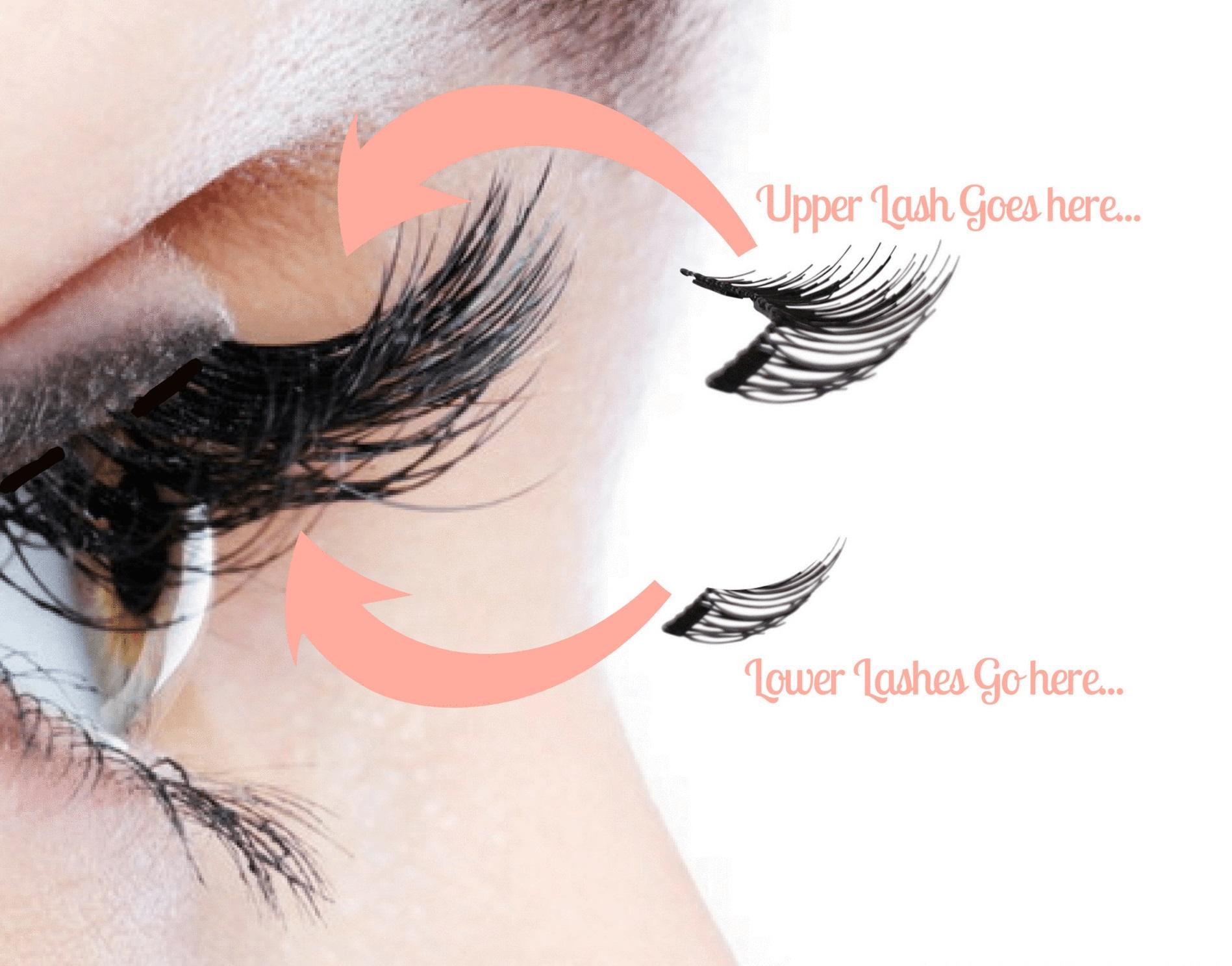 PunjabKesari, Magnetic Eyelashes Image, Beauty Trends 2019 Image