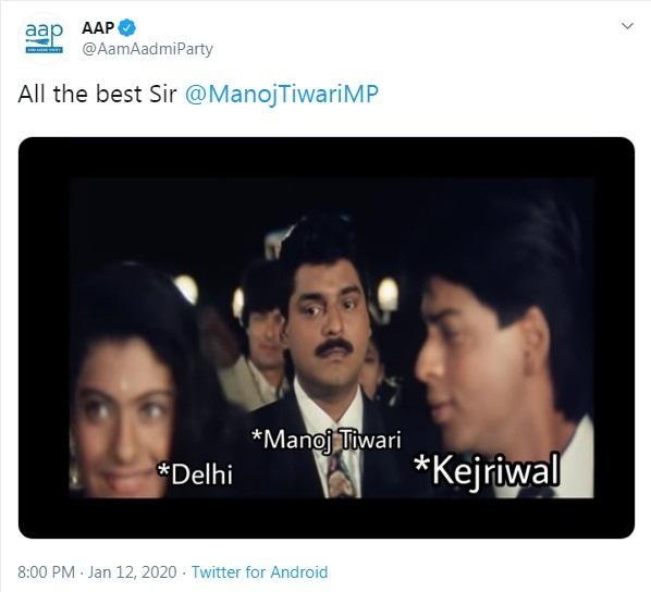 Bollywood Tadka,Delhi Assembly Election 2020, Delhi Filmy War