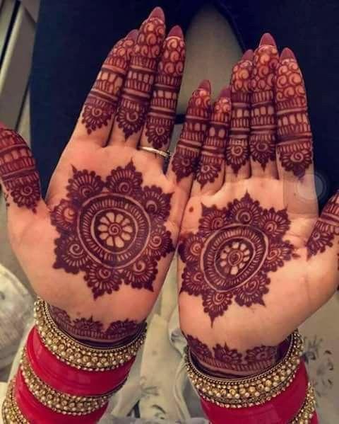 PunjabKesari,  Mehndi Design Image , bridal  mehndi design मेहंदी डिजाइन इमेज फोटो फ्री डाउनलोड