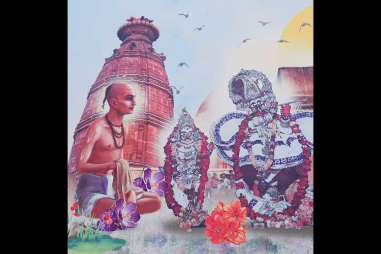 PunjabKesari, sri radha madan mohan temple in vrindavan