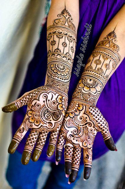PunjabKesari, Simple Arabic Mehndi Design Photo सिंपल अरबिक मेहँदी डिज़ाइन