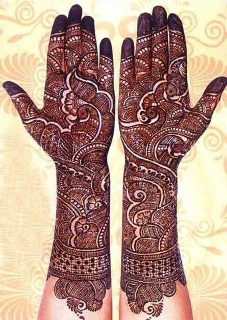 PunjabKesari, Bridal Mehndi Design Image & Photo ब्राइडल मेहंदी डिज़ाइन इमेज & फोटो