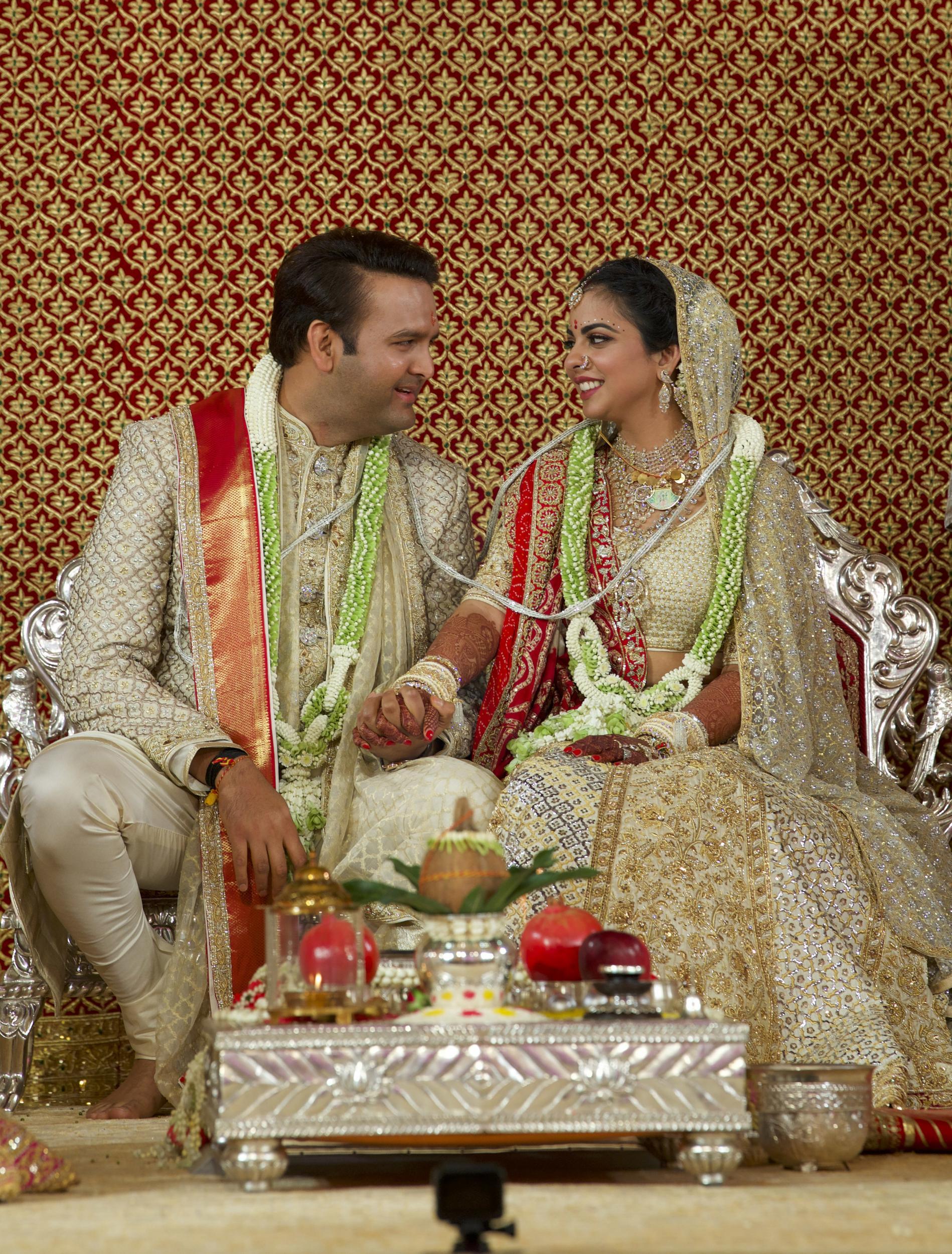 PunjabKesari, Nari, Isha Ambani wedding image