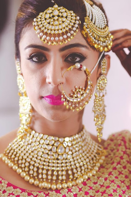 PunjabKesari, Bridal Nose Ring for wedding, ब्राइडल नोज रिंग फॉर वेडिंग