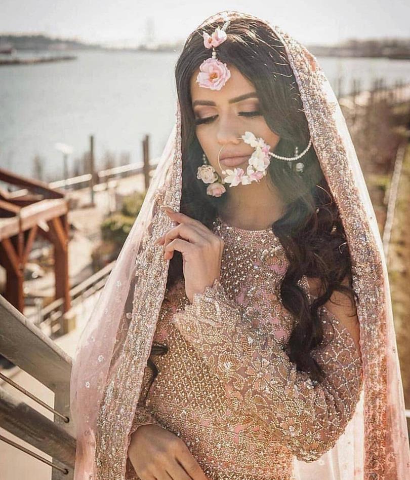 PunjabKesari, Latest Bridal Nose Ring Designs, लेटेस्ट ब्राइडल नोज रिंग डिज़ाइन इमेज