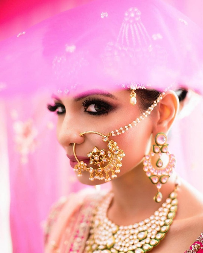 PunjabKesari, Gorgeous Bridal Nose Rings Designs, गॉर्जियस ब्राइडल नोज रिंग डिज़ाइन