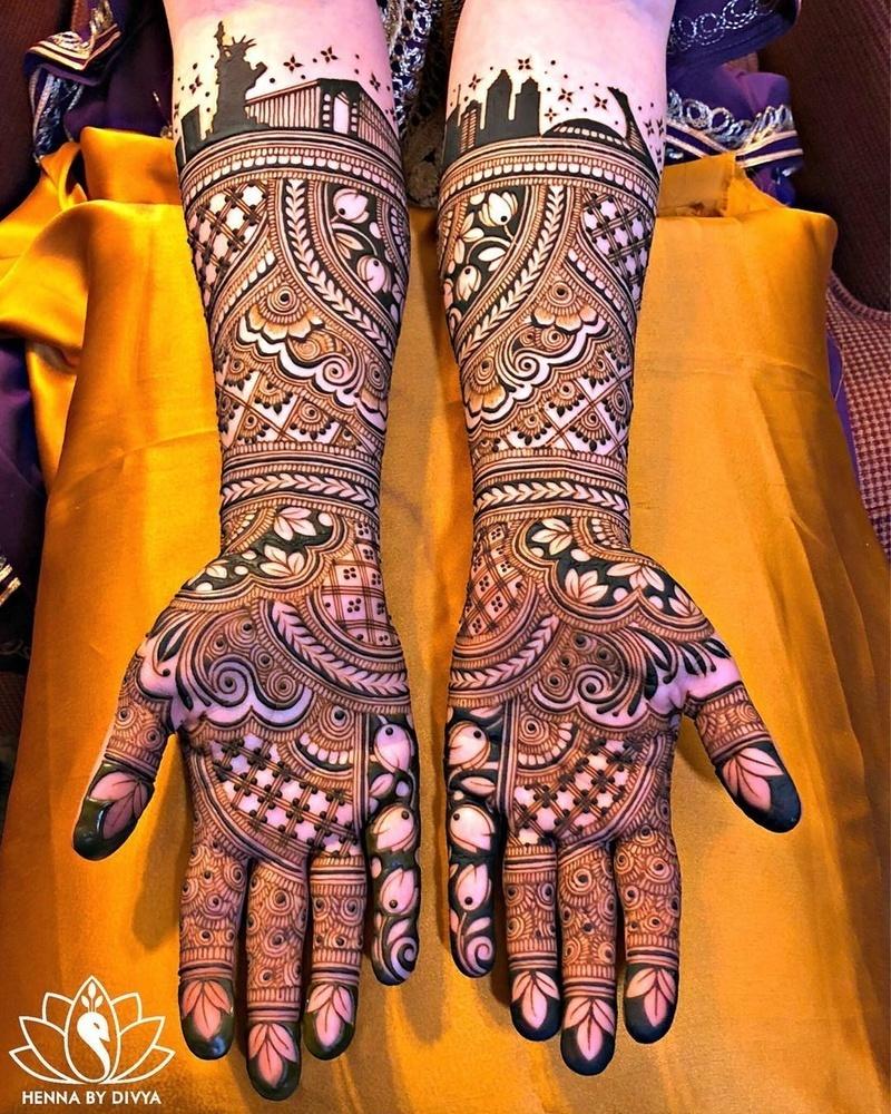 PunjabKesari, मेहंदी डिजाइन इमेज, Dulhan Mehndi Design Images,दुल्हन मेहंदी डिजाइन इमेज